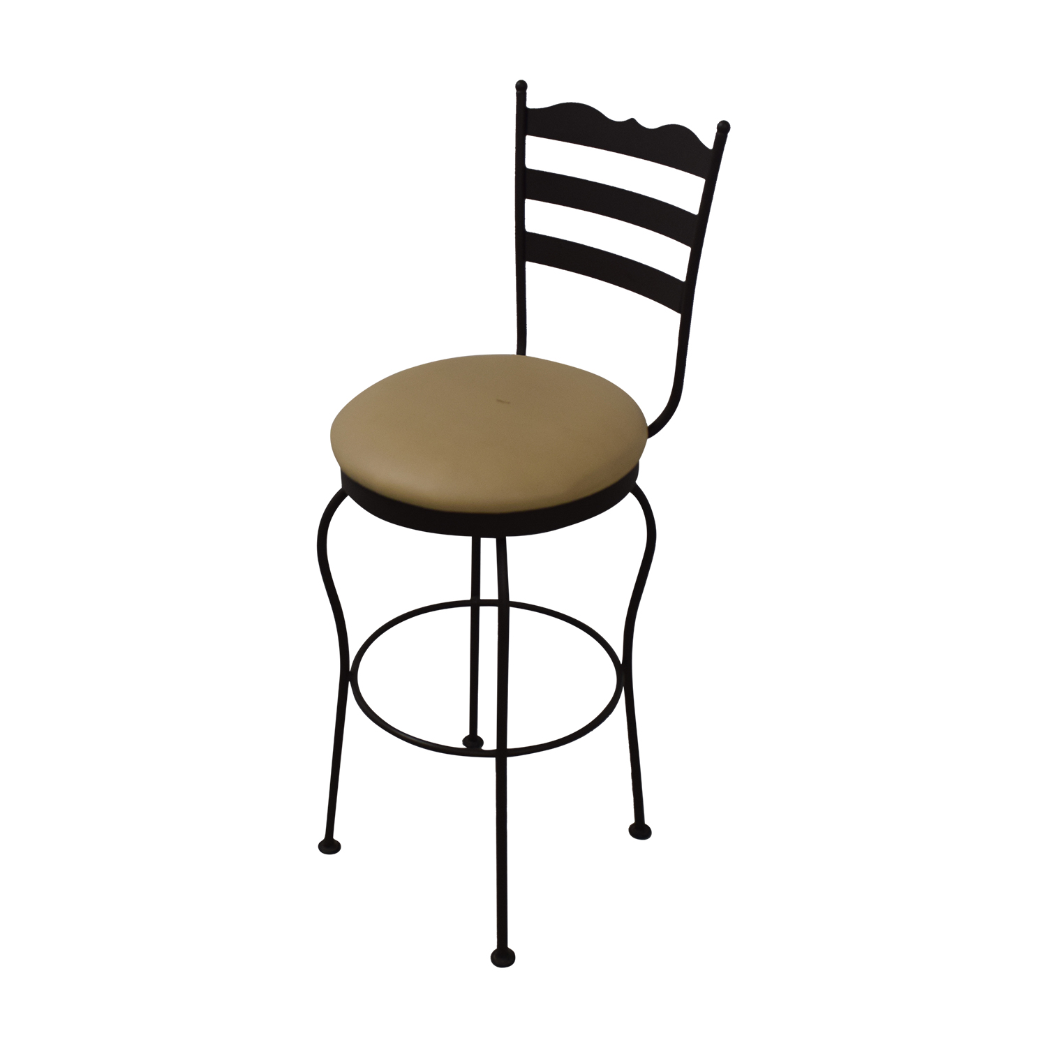 Bar Stools For Sale 84 Off Brown Swivel Bar Stools Chairs