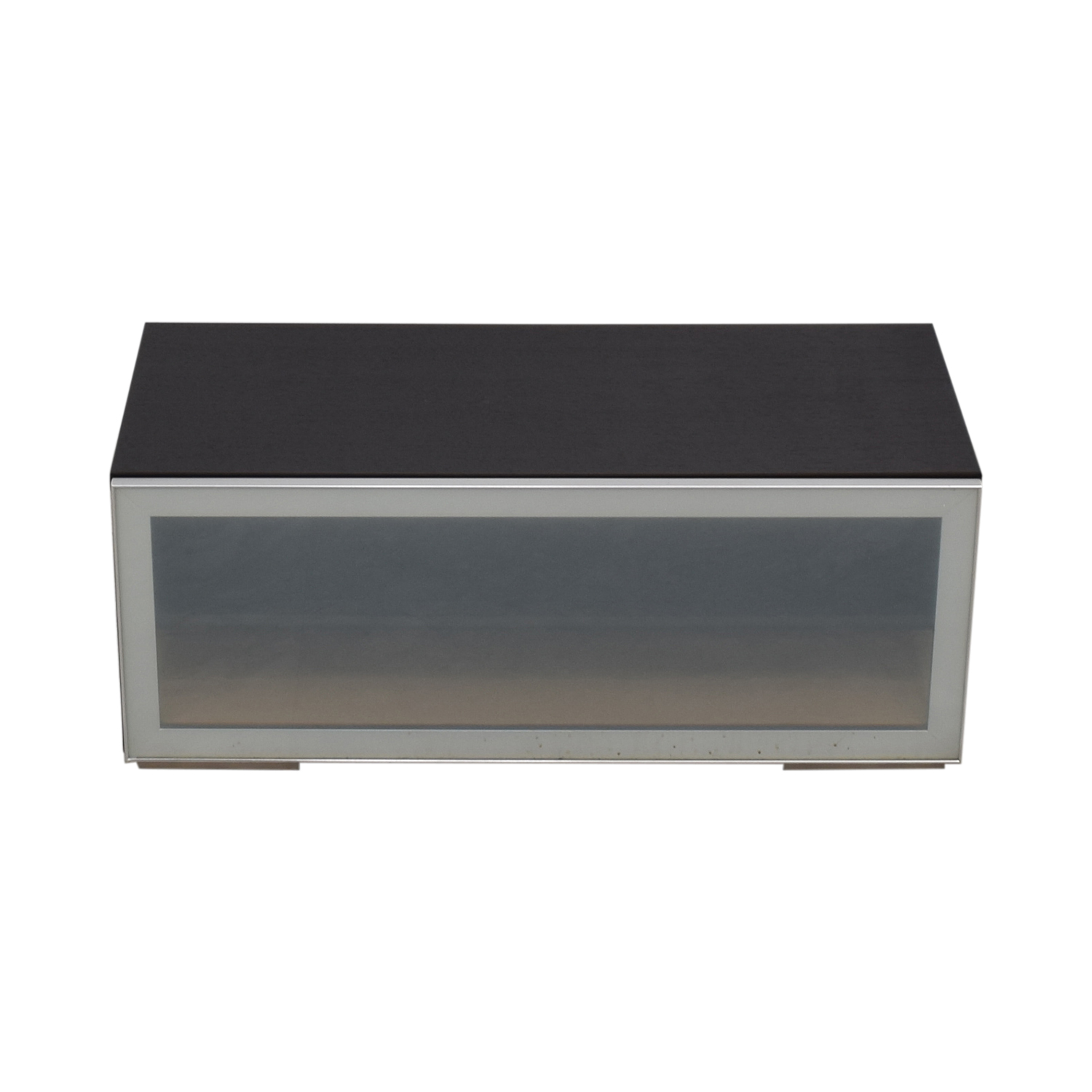 Boconcept Console 84 Off Boconcept Boconcept Glass And Wood Media Console Storage