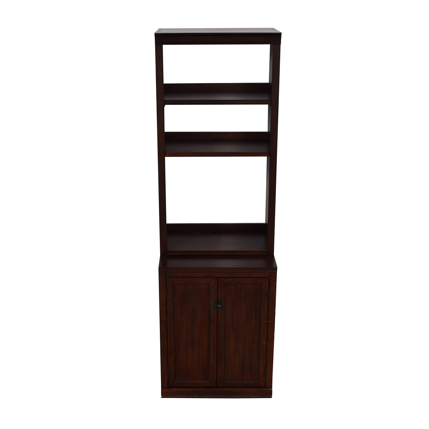 Bookcase Cabinet 70 Off Pottery Barn Pottery Barn Bookcase With Storage Cabinet Storage