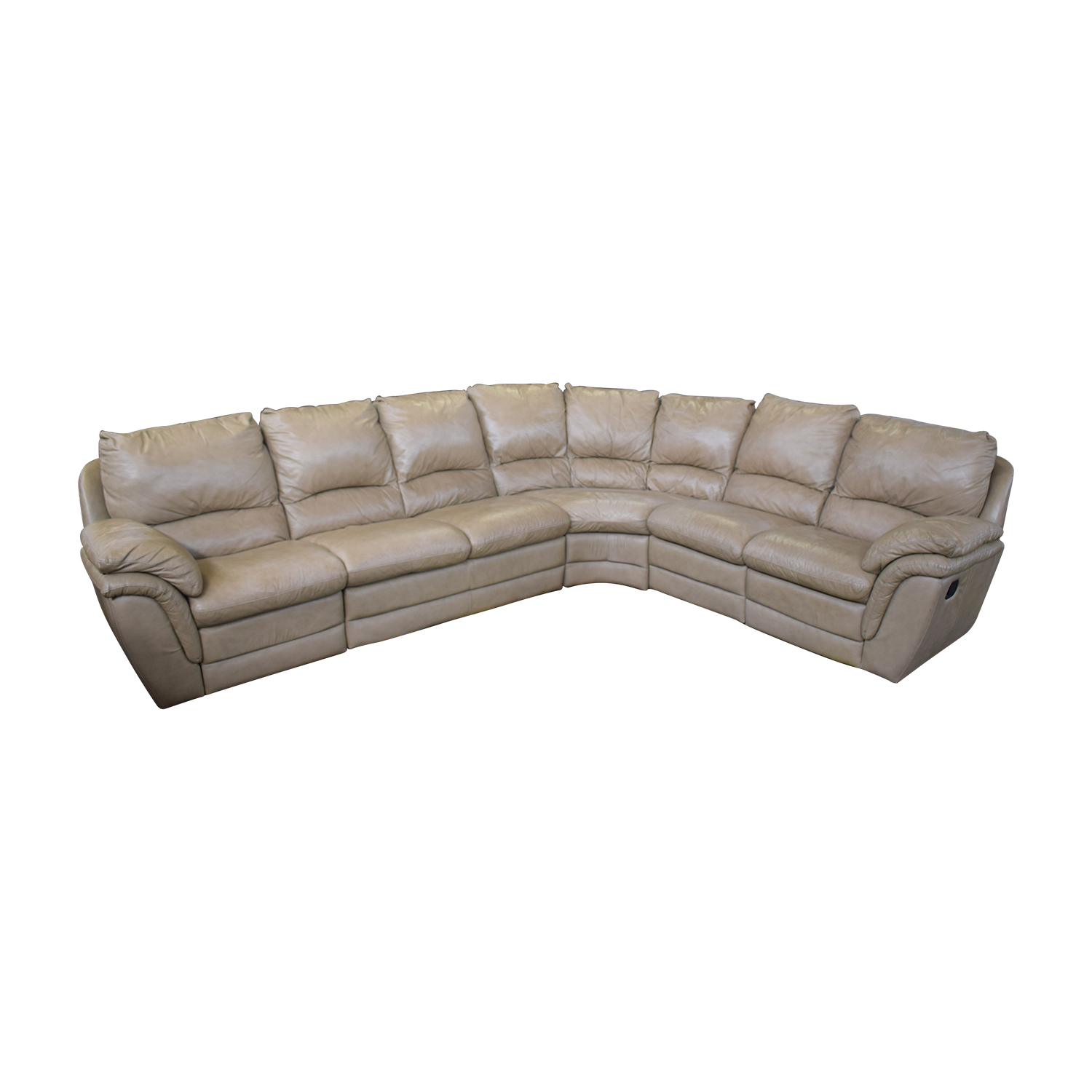 Sofa L Shape Dimensions 72 Off Beige L Shaped Sectional Sofas