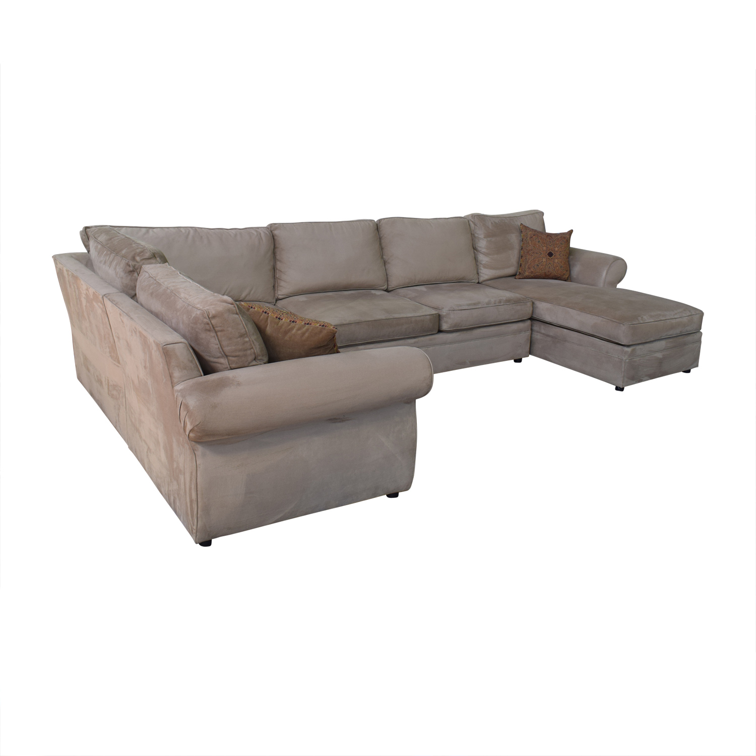 U Couch 83 Off Pottery Barn Pottery Barn U Shaped Sectional Sofas