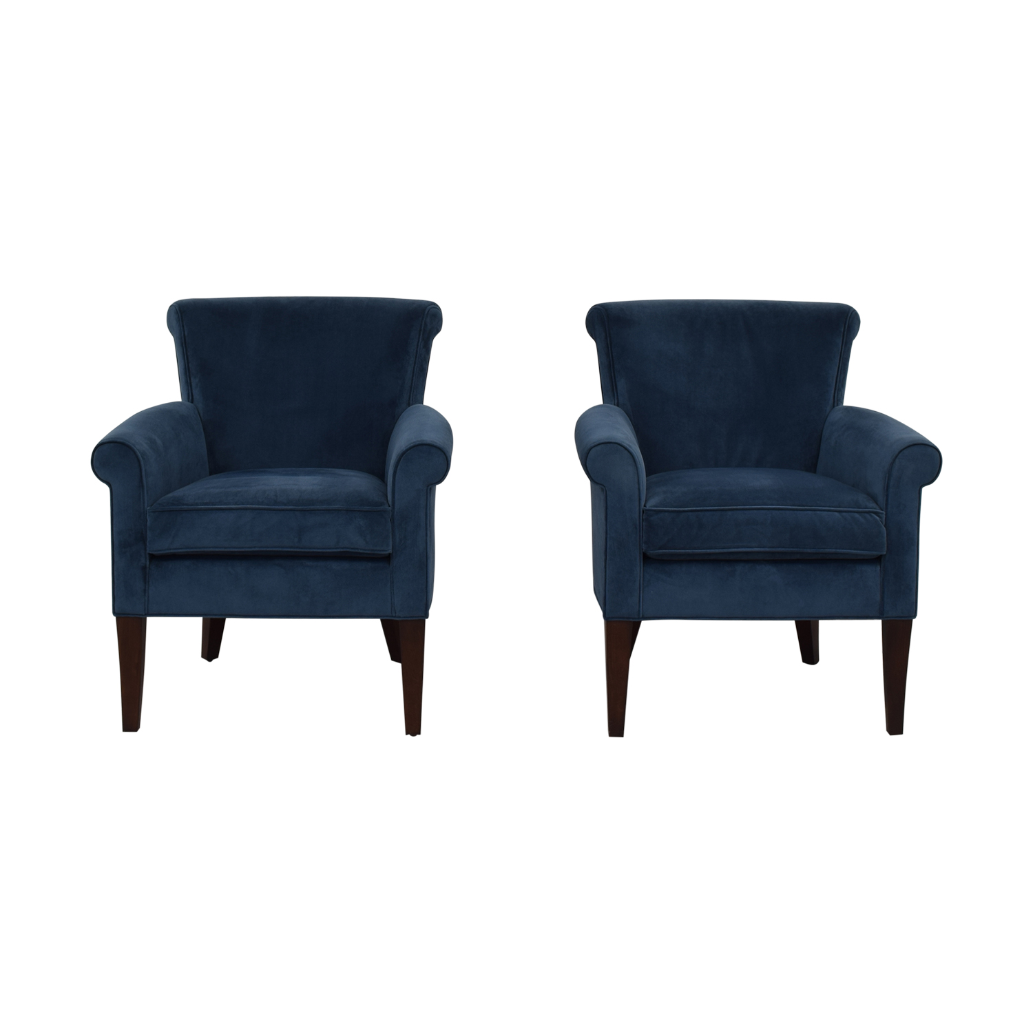 Arm Chairs 70 Off Stickley Furniture Stickley Furniture Sonoma Blue Accent Arm Chairs Chairs