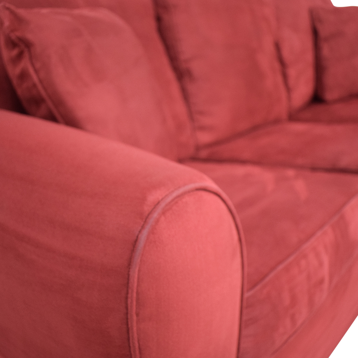 77 Off Macy S Macy S Red Sleeper Sofa Sofas