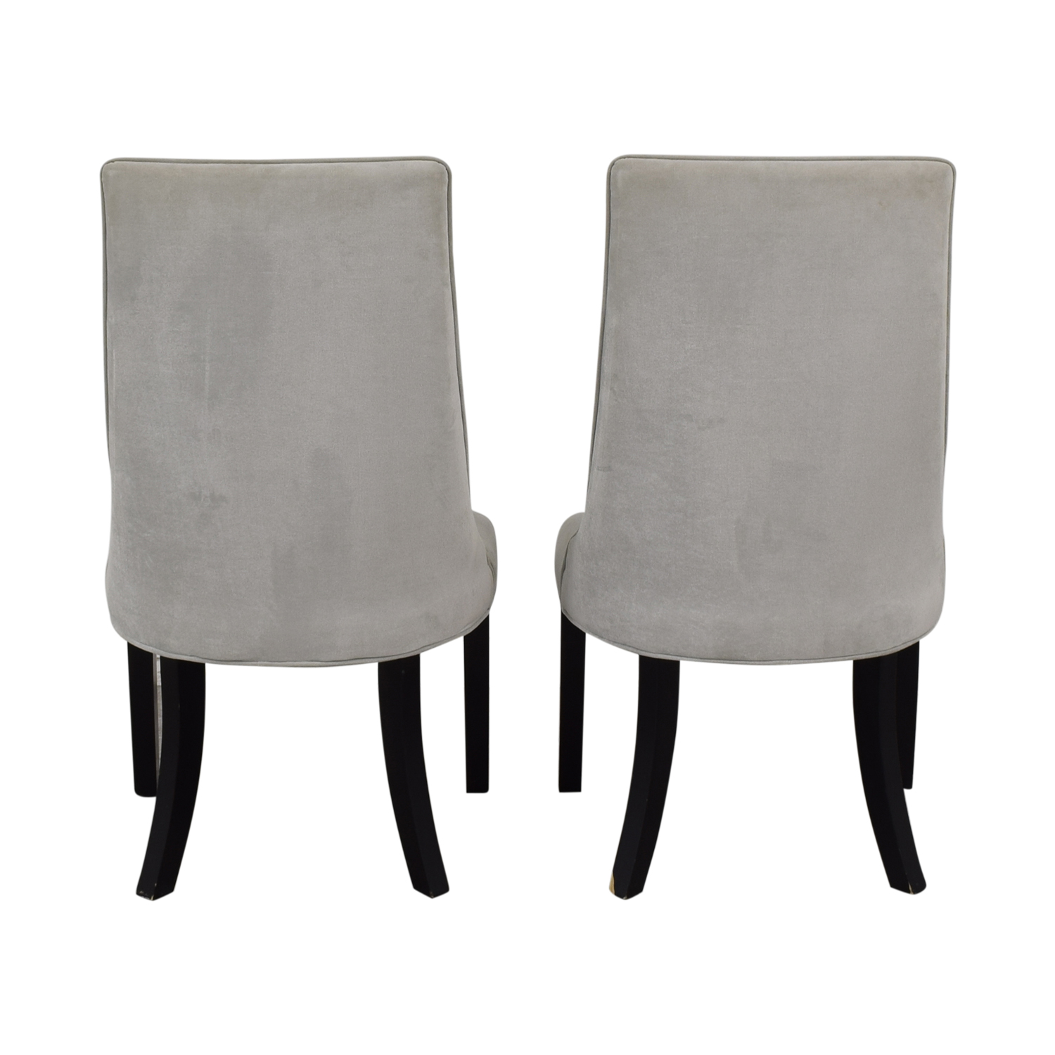 Structube Stools 81 Off Structube Velvet Parsons Chairs Chairs