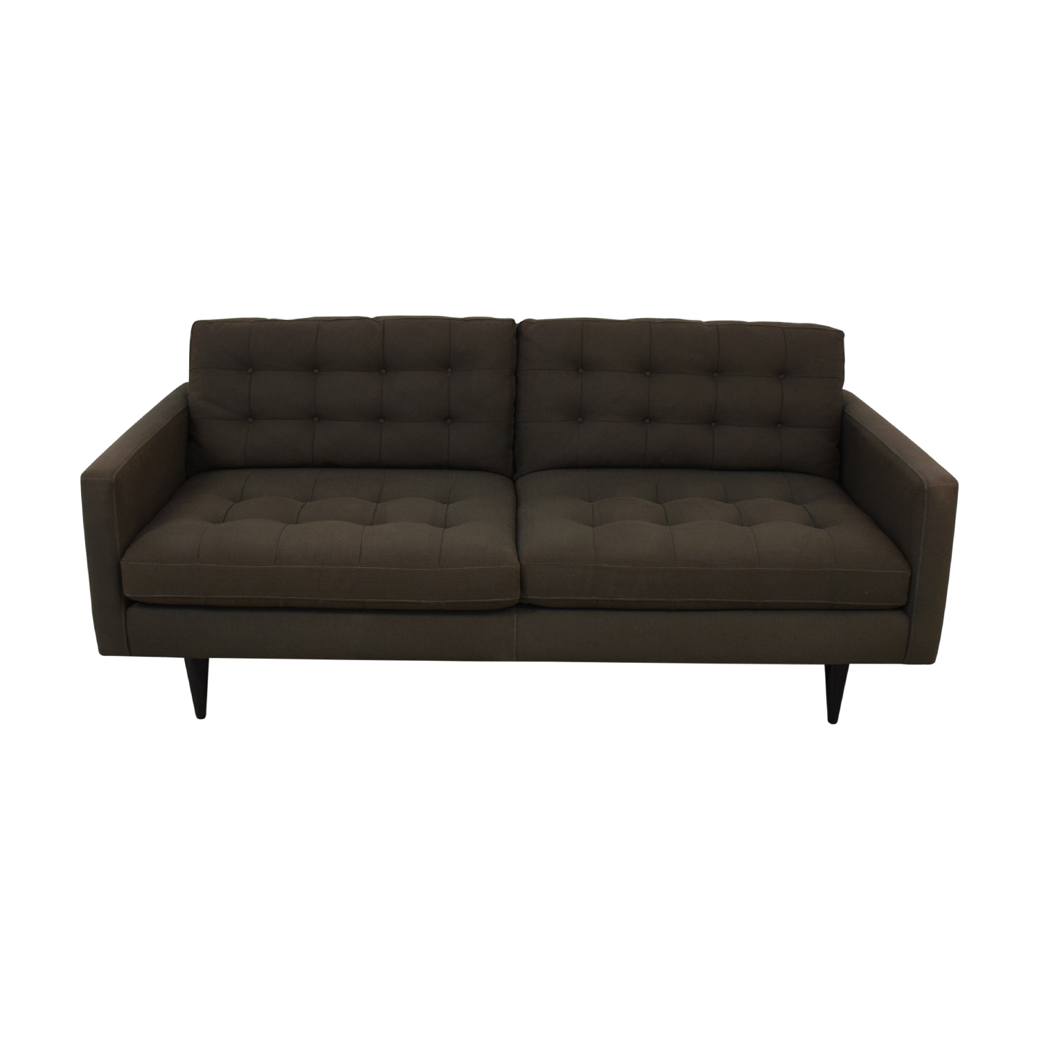 Sofa Online Purchase 61 Off Crate Barrel Crate Barrel Petrie Midcentury Sofa Sofas