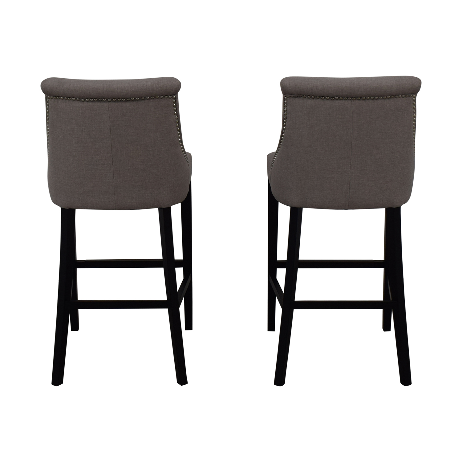 Bar Stools For Sale 80 Off Grey Bar Stools Chairs