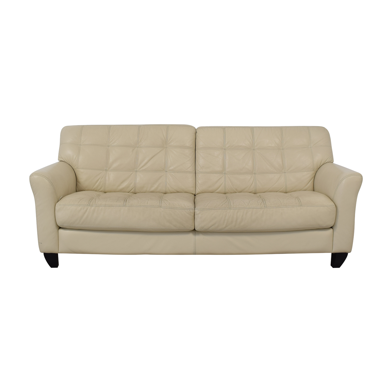 White Leather Couch 54 Off Chateau D Ax Chateau D Ax Milan White Leather Couch Sofas