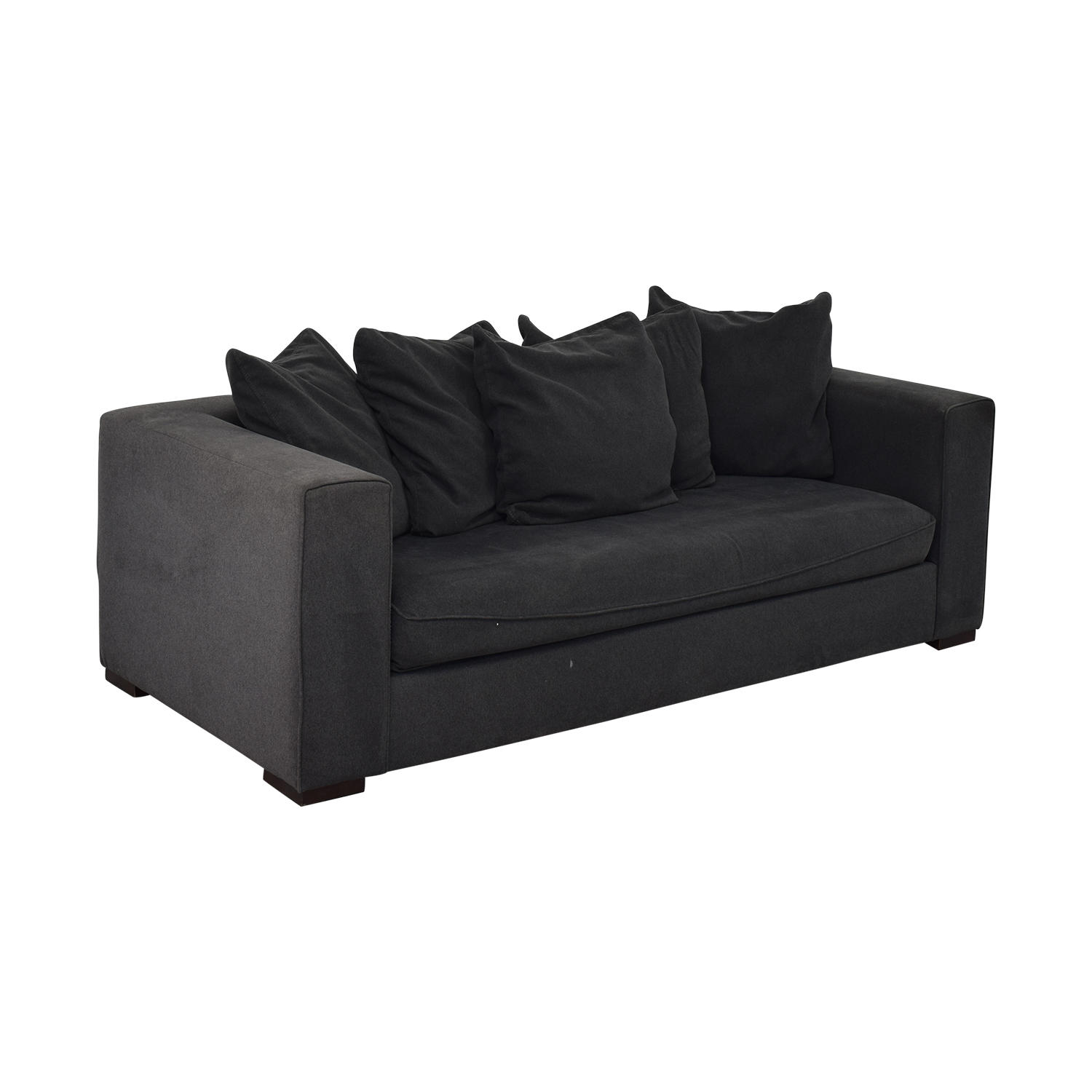 Square Sofa 53 Off West Elm West Elm Square Arm Sofa Sofas