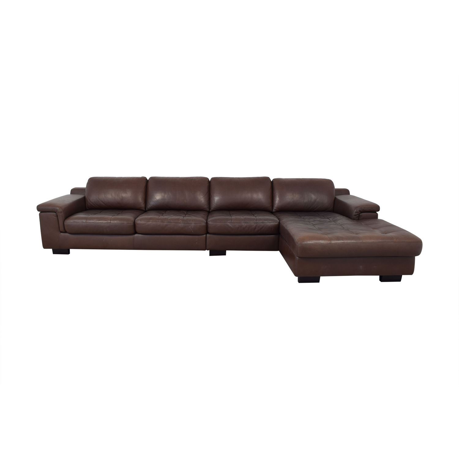 Willi Schillig Ecksofa Longlife Leder 53 Off W Schillig W Schillig Leather Sectional And Ottoman