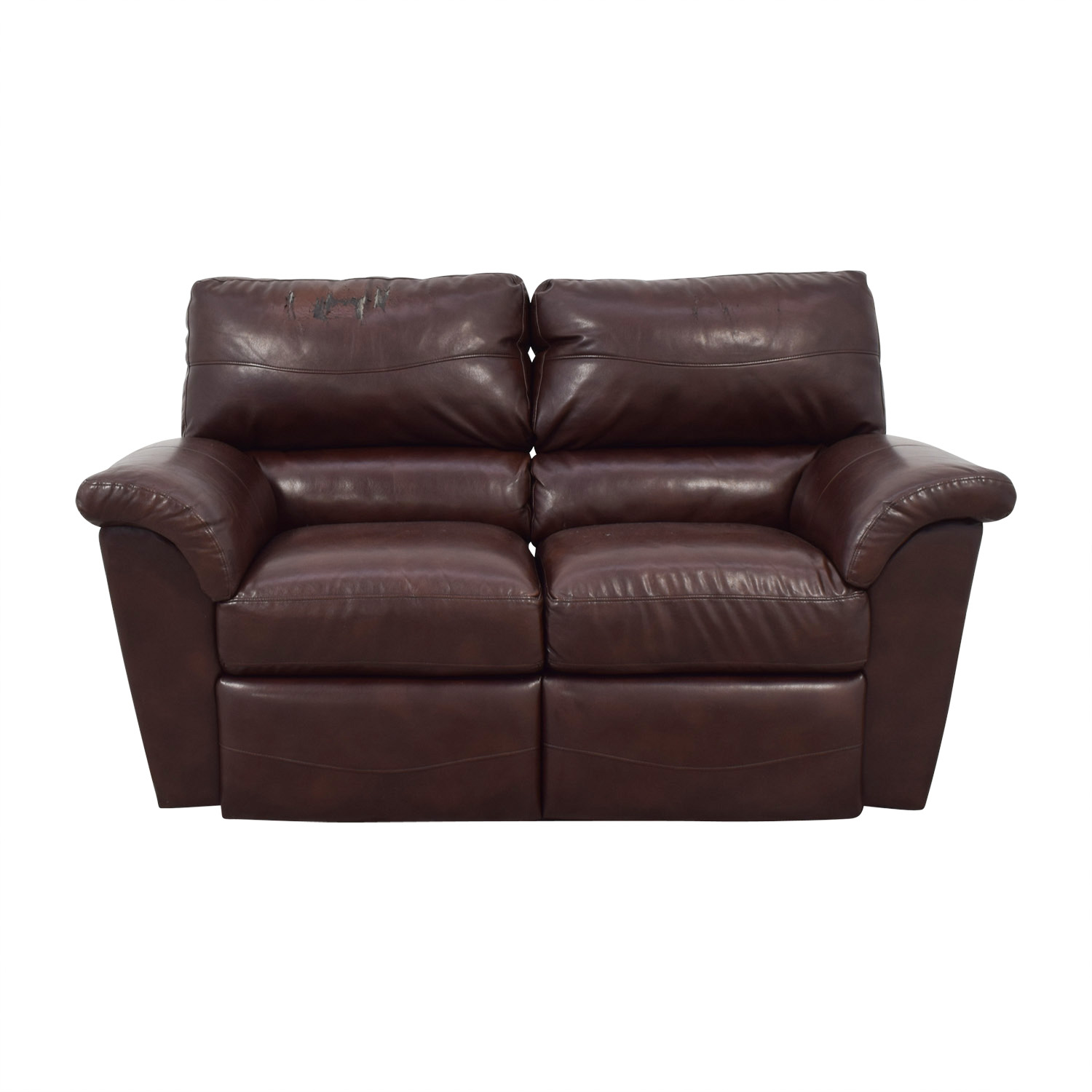Leather Sofa La Z Boy 65 Off La Z Boy La Z Boy Oscar Leather Reclining Love Seat Sofas
