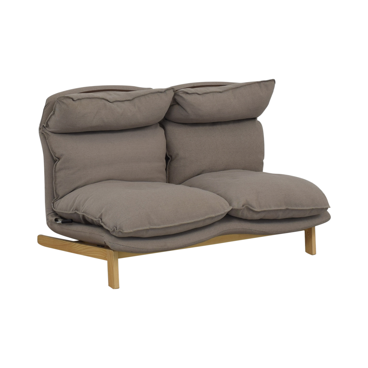 54 Off Muji Muji High Back Reclining Sofa Sofas