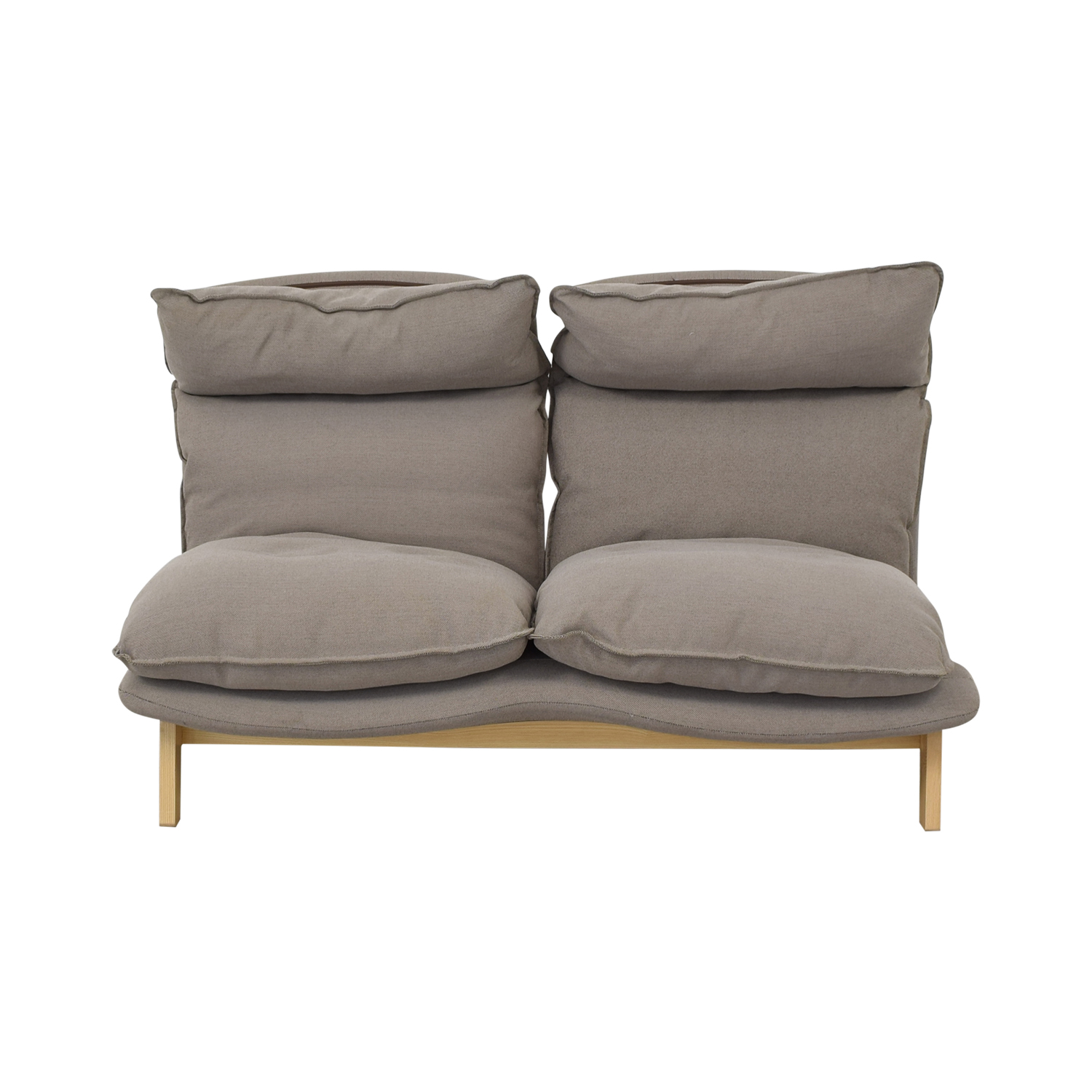 High Back Leather Recliner Sofa