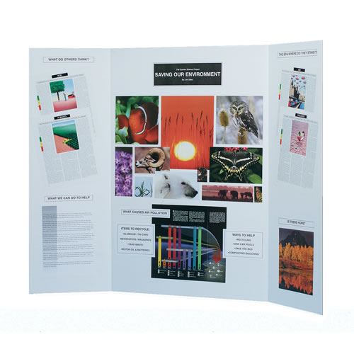 White Project Display Board