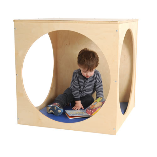 Infant Child Learning Center Play House Cube