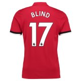 Manchester United Home Shirt 2017-18 Blind 17