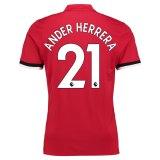 Manchester United Home Shirt 2017-18 Herrera 21