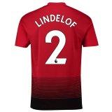 マンチェスター ユナイテッド ホーム シャツ 2018-19 - Lindelof 2