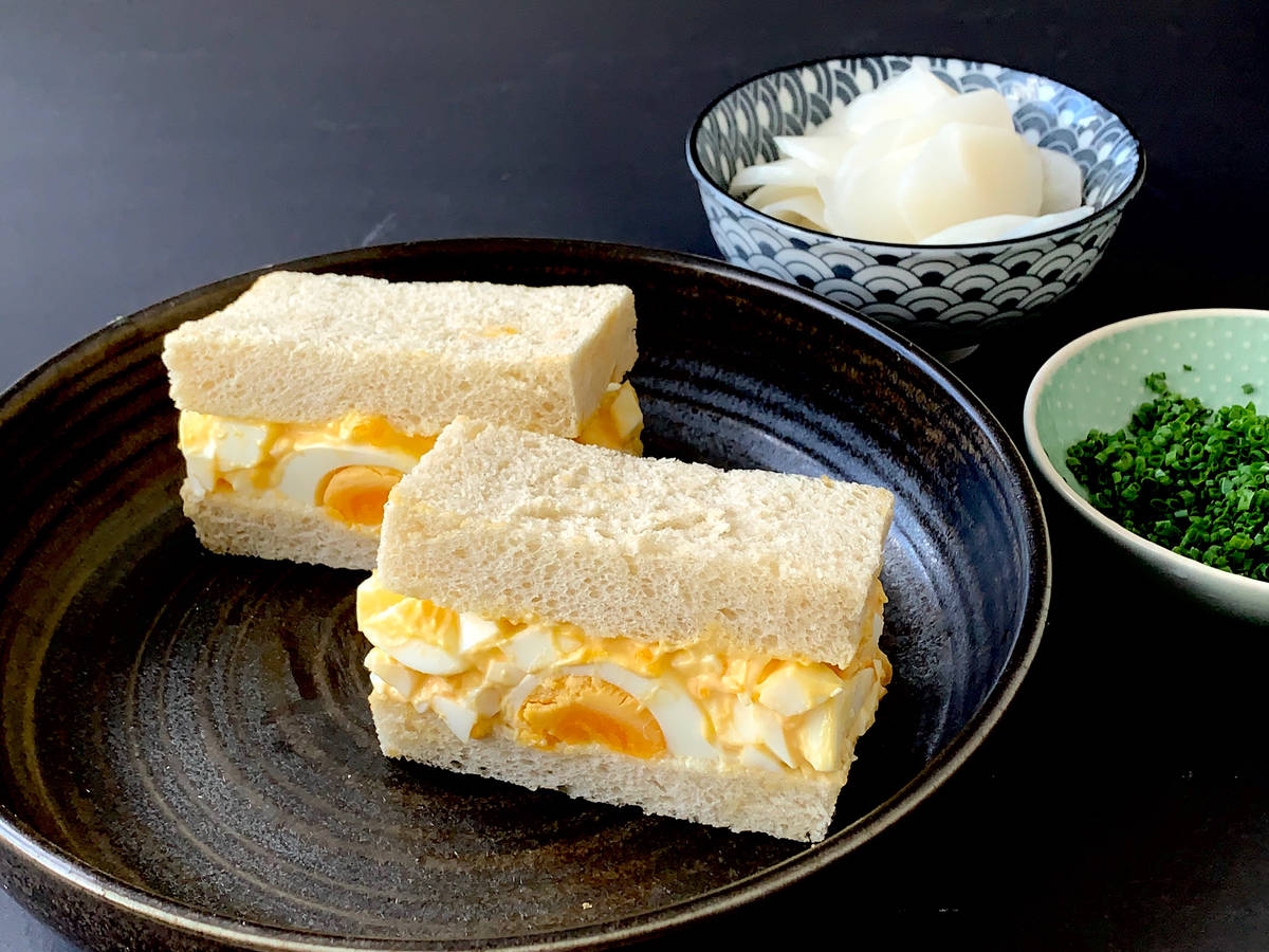 Tamago Sando Japanese Egg Salad Sandwich Recipe Kitchen Stories