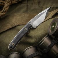 "Gavko/NCC Knives Custom EDC Fixed 3.375"" AEB-L Tanto Blade ..."