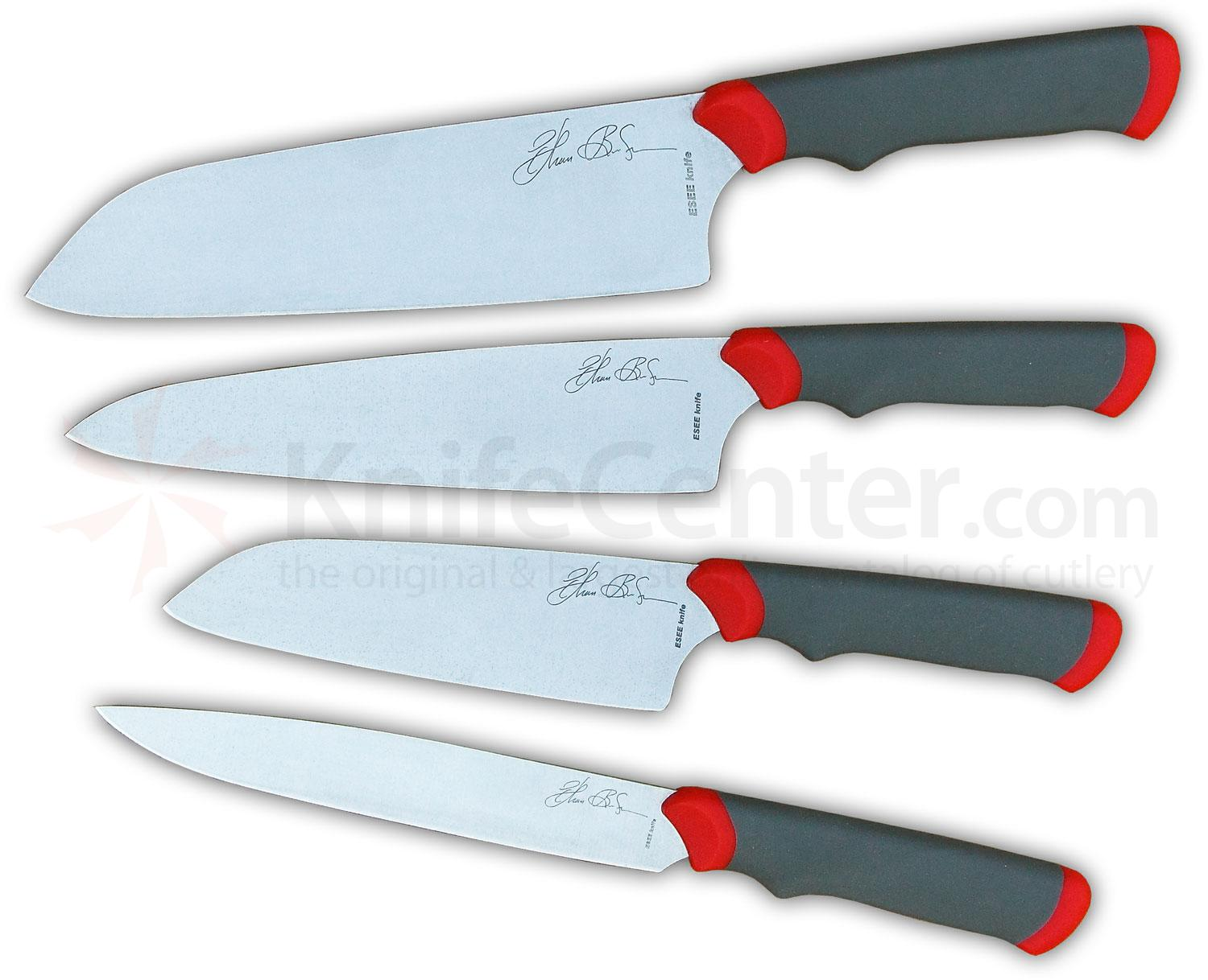 Fine Cutlery Brands Esee Ethan Becker Signature Cooking Knives Series 1 Set