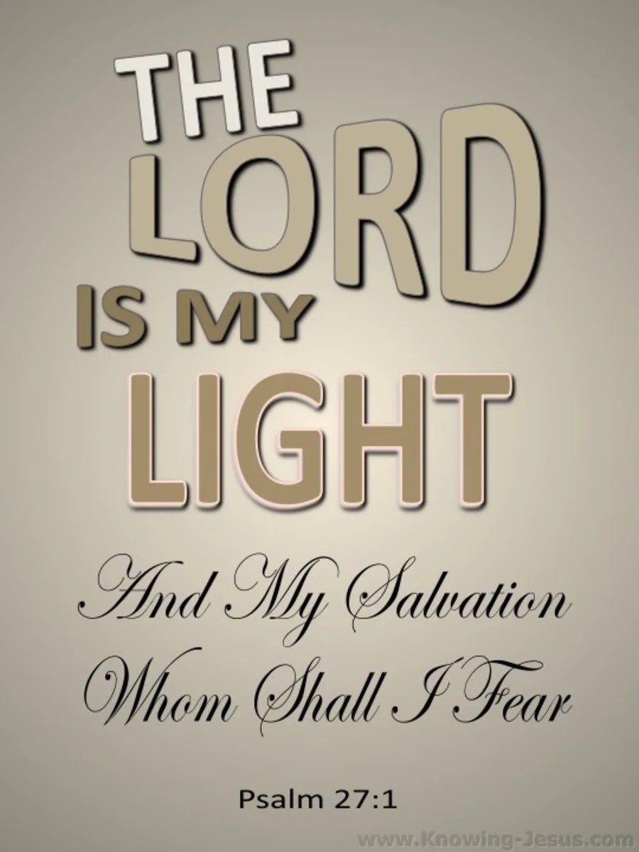 2560x1440 Wallpapers Hd Bible Quotes Psalm 27 1 The Lord My Light And My Salvation Beige