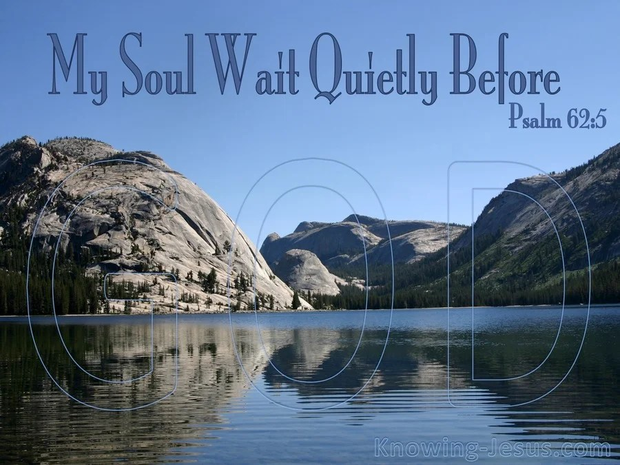 Christian Wallpaper Iphone 6 The Soul In Waiting Devotional Psalm 62 5