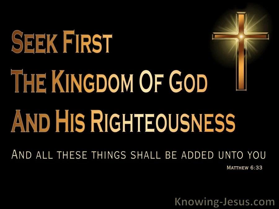 Blackberry Black Wallpaper Matthew 6 33 Seek First The Kingdom Black