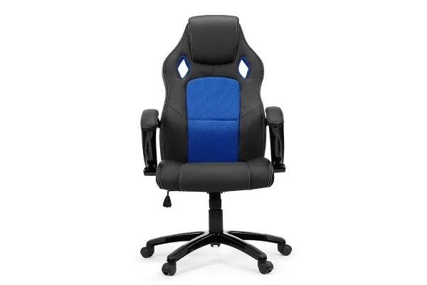Dick Smith Ergolux Rx8 Deluxe Gaming Office Chair Blue