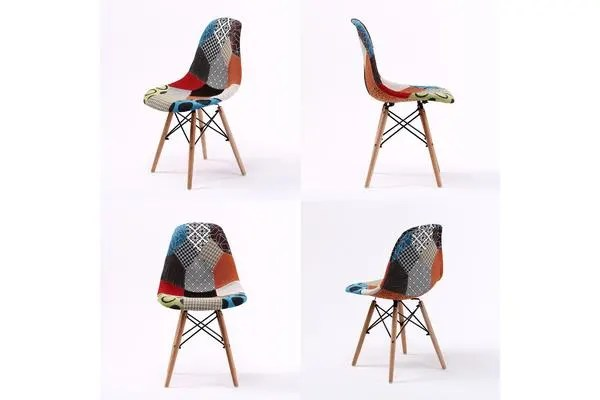Dick Smith Replica Eames Dsw Dining Chair Multi Colour
