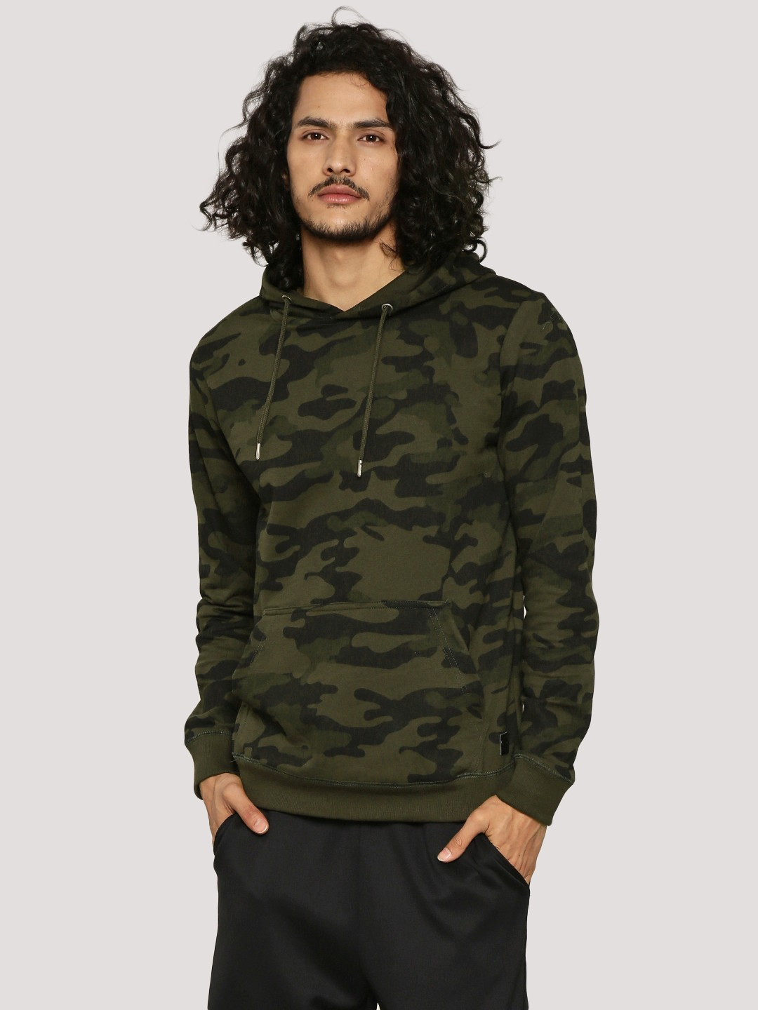 Camo Hoodie India Buy Brave Soul Khaki Camo Hoodie For Men Online In India