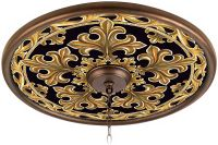 "Villa Gold 24"" Giclee Bronze Ceiling Medallion - #02777 ..."