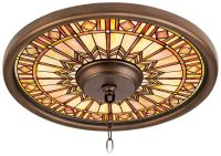 "Mackintosh Sun 16"" Wide Bronze Finish Ceiling Medallion ..."