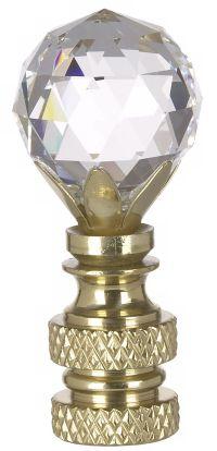 Swarovski Crystal Ball Lamp Shade Finial - #10108 | Lamps Plus