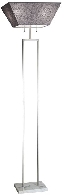 Robert Abbey Beaux Arts Torchiere Floor Lamp