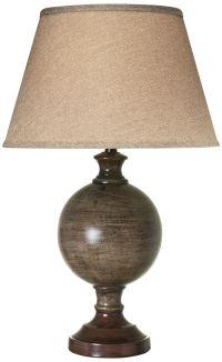 Amarilla Dark Sable Beige Table Lamp - #13C11 | Lamps Plus