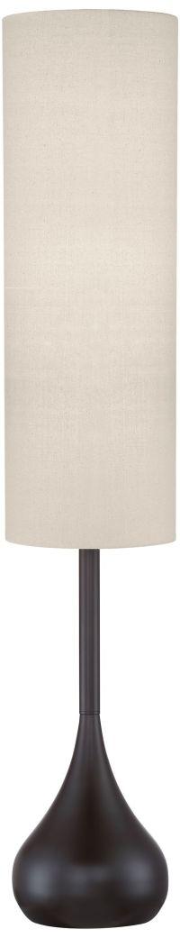 "Possini Euro Moderne Bronze Droplet 62"" High Floor Lamp ..."