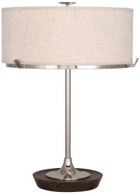 Robert Abbey Edwin Polished Nickel Table Lamp - #1C470 ...