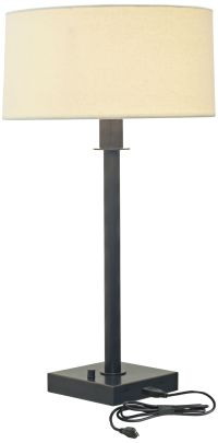 House of Troy Franklin Oil Rubbed Bronze Table Lamp ...