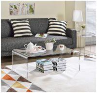 Sundeen Rectangular Molded Acrylic Coffee Table - #21W01 ...