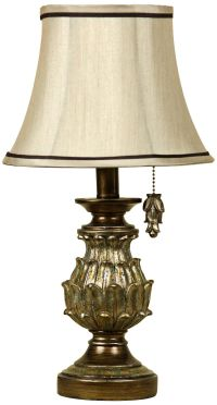 "Salerno 18""H Pineapple Shape Mini Accent Table Lamp ..."