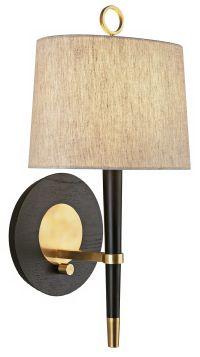 Jonathan Adler Ventana Brass Plug-In Wall Lamp - #31135 ...