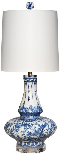Yulin Blue and White Porcelain Table Lamp - #32X14 | Lamps ...