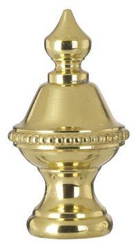 Brass Finish Knob Lamp Shade Finial - #34497 | Lamps Plus