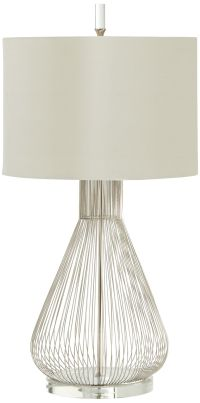 Whisked Fall Iron And Crystal Modern Table Lamp - #3R319 ...