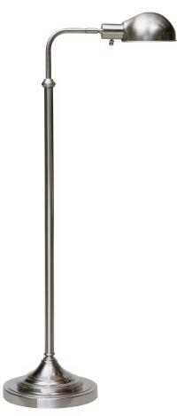 Robert Abbey Kinetic Brushed Chrome Pharmacy Floor Lamp ...