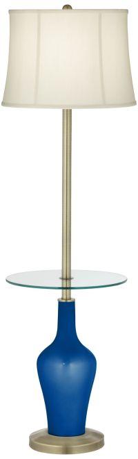 Ocean Metallic Anya Tray Table Floor Lamp - #4C531-3P519 ...