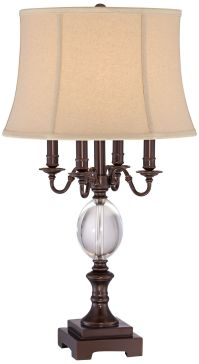 Rhett 4 Arm Bronze Table Lamp - #4G378 | Lamps Plus