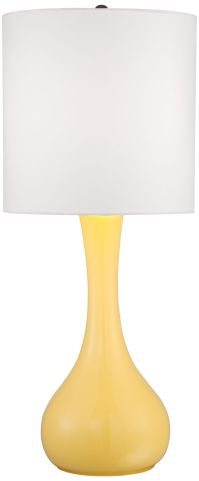 Lemon Zest Droplet Table Lamp - #4H252-Y5337 | Lamps Plus