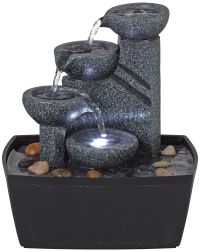 Indoor Water Fountains - Interior Fountain Designs | Lamps ...