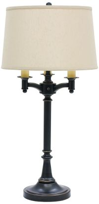 House of Troy Lancaster 4-Light Oil Rubbed Bronze Table ...